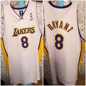 Kobe Bryant White Lakers Jersey 3XXXL
